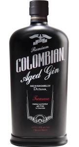 Colombian Gin Dictador Black Aged 0,7l