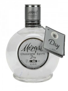 Mozart Dry Chocolate Spirit 0,7l